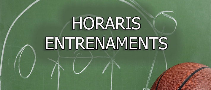Horaris entrenament