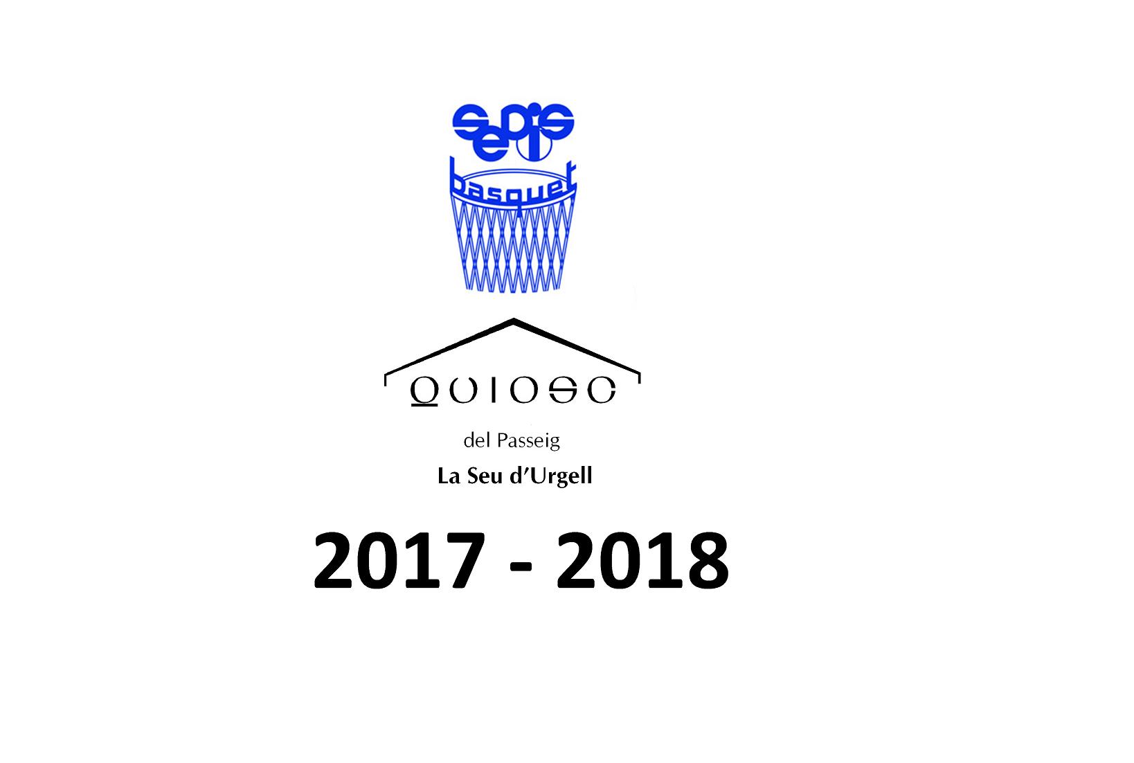 SEDIS EL QUIOSC 2017/2018