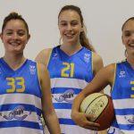 Sònia Garcia, Laia Turu i Júlia Palomo, jugadores del júnior femení, faran la pretemporada amb Cadí La Seu.