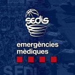 Sedis Bàsquet cedeix material mèdic al Servei d'Emergències Mèdiques de Catalunya.