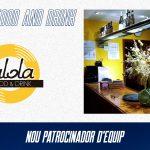 La Lola Food and Drink, nou patrocinador d'equip d'AE Sedis Bàsquet